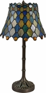 Dale Tiffany TA18345 Maile Tiffany Antique Bronze/Verde Table Light