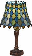 Dale Tiffany TA18379 Maile Tiffany Antique Bronze Table Lamp Lighting