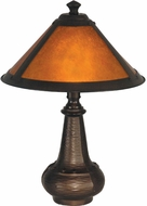 Dale Tiffany TA90191 Hunter Antique Bronze Table Lamp Lighting