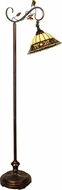 Dale Tiffany TF90219 Pebble Stone Antique Golden Sand Floor Lamp Lighting