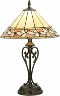 Dale Tiffany TT15517LED Marnie Tiffany Tiffany Bronze LED Table Top Lamp