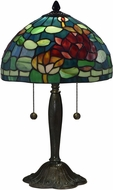 Dale Tiffany TT17073 Jocelyn Tiffany Antique Bronze/Verde Lighting Table Lamp