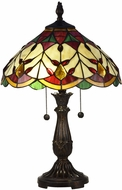 Dale Tiffany TT17076 Arizona Marshall Tiffany Antique Bronze Table Lamp Lighting