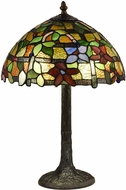 Dale Tiffany TT18187 Valencia Tiffany Antique Bronze Verde Table Lighting