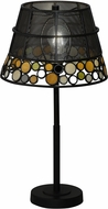 Dale Tiffany TT18336 Pasqual Tiffany Antique Bronze Table Lamp