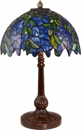 Dale Tiffany TT19020 Roma Wisteria Antique Bronze Table Lamp Lighting