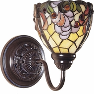 Dale Tiffany TW100851 Jacqueline Mica Bronze Wall Sconce Light