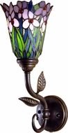 Dale Tiffany TW101056 Meadowbrook Tiffany Antique Bronze Sconce Lighting