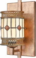 Dale Tiffany TW17021 Minerals Tiffany Rustic Bronze Wall Mounted Lamp