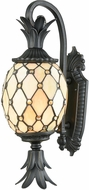 Dale Tiffany TW17027 Essex Tiffany Golden Black Exterior Sconce Lighting