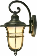 Dale Tiffany TW17028 Kenya Golden Black Outdoor Light Sconce