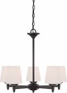 Designers Fountain 15006-5-34 Darcy Oil Rubbed Bronze Hanging Chandelier