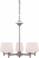 Designers Fountain 15006-5-35 Darcy Brushed Nickel Chandelier Light