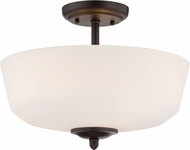 Designers Fountain 15006-SF-34 Darcy Oil Rubbed Bronze Ceiling Light Fixture