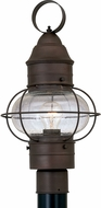 Designers Fountain 1766-RT Nantucket Nautical Rustique Outdoor Post Lamp