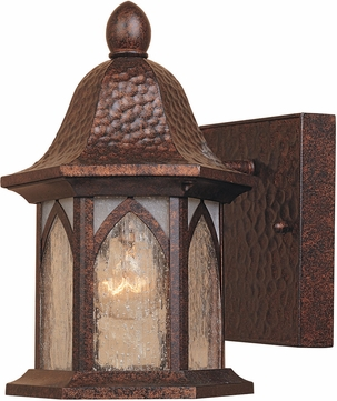 Designers Fountain 20601-BAC Berkshire Traditional Burnished Antique Copper Exterior Lighting Wall Sconce