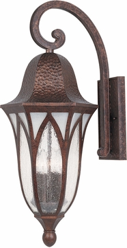 Designers Fountain 20631-BAC Berkshire Traditional Burnished Antique Copper Outdoor Wall Mounted Lamp