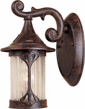 Designers Fountain 20901-CHN Canyon Lake Traditional Chestnut Exterior Wall Light Sconce