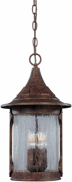 Designers Fountain 20934-CHN Canyon Lake Traditional Chestnut Exterior Drop Lighting