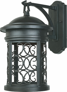 Designers Fountain 31121-ORB Ellington Traditional Oil Rubbed Bronze Exterior Lighting Wall Sconce