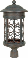 Designers Fountain 31136-MP Ellington Traditional Mediterranean Patina Outdoor Post Light