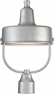 Designers Fountain 33146-GA Portland Galvanized Metal Outdoor Post Lighting