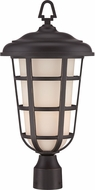 Designers Fountain 33246-ABP Triton Aged Bronze Patina Outdoor Post Light Fixture
