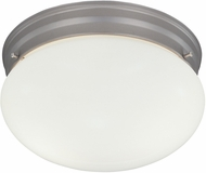 Designers Fountain 4732-PW Basic Flushmount Pewter Flush Ceiling Light Fixture