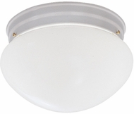 Designers Fountain 4732-WH Basic Flushmount White Flush Mount Ceiling Light Fixture