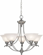 Designers Fountain 5695-PW Palladium Pewter Chandelier Lighting