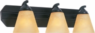 Designers Fountain 6603-ORB Piazza Oil Rubbed Bronze 3-Light Vanity Light