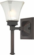 Designers Fountain 6661-BBR Canterbury Biscayne Bronze Wall Light Fixture