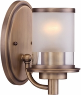Designers Fountain 6691-OSB Essence Modern Old Satin Brass Mini Pendant Lamp