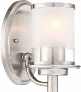 Designers Fountain 6691-SP Essence Contemporary Satin Platinum Mini Hanging Lamp