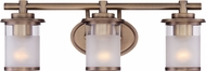 Designers Fountain 6693-OSB Essence Contemporary Old Satin Brass Hanging Light