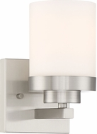Designers Fountain 69601-SP Kaden Modern Satin Platinum Light Sconce