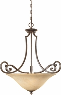 Designers Fountain 81831-FSN Mendocino Forged Sienna Hanging Light