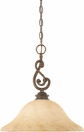 Designers Fountain 81832-FSN Mendocino Forged Sienna Pendant Light Fixture