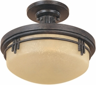Designers Fountain 82111-WM Mission Ridge Warm Mahogany Overhead Lighting Fixture