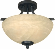 Designers Fountain 82911-BNB Tackwood Burnished Bronze Ceiling Light