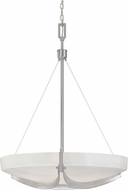 Designers Fountain 83031-SP Avanti Modern Satin Platinum Drop Ceiling Lighting