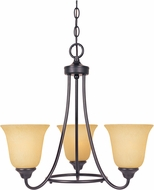 Designers Fountain 83383-ORB Madison Oil Rubbed Bronze Mini Ceiling Chandelier