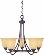 Designers Fountain 83385-ORB Madison Oil Rubbed Bronze Hanging Chandelier
