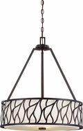 Designers Fountain 83731-ART Modesto Modern Artisan Drum Hanging Pendant Light