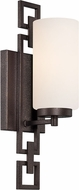 Designers Fountain 83801-FBZ Del Ray Flemish Bronze Wall Sconce