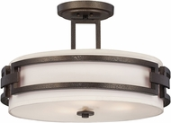 Designers Fountain 83811-FBZ Del Ray Flemish Bronze Overhead Lighting