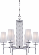 Designers Fountain 83986-CH Candence Chrome Hanging Chandelier