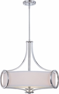 Designers Fountain 84031-CH Mirage Modern Chrome Hanging Light Fixture
