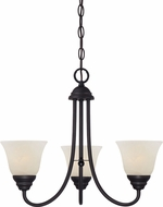 Designers Fountain 85183-ORB Kendall Oil Rubbed Bronze Mini Chandelier Lamp