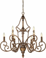 Designers Fountain 85689-ABS Isla Aged Brass Lighting Chandelier